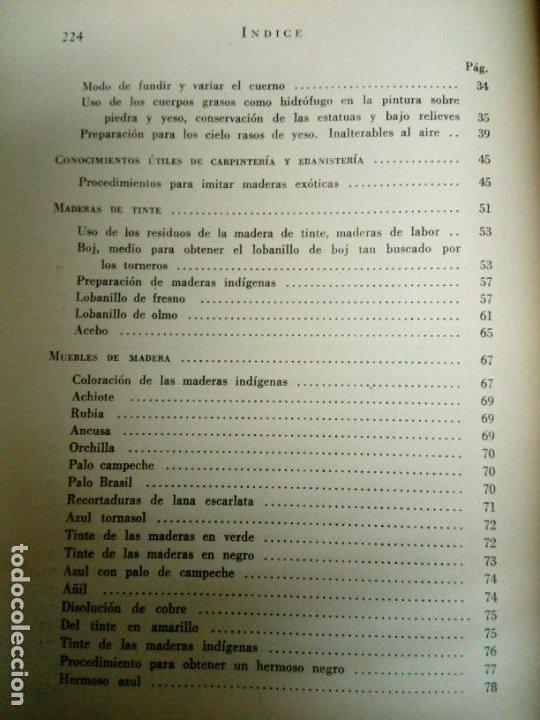 Libros de segunda mano: Manual del restaurador de muebles - Foto 8 - 200077538