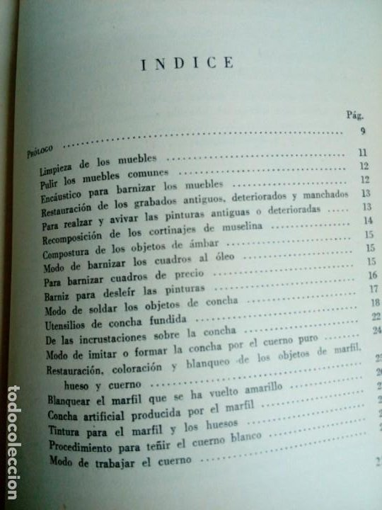 Libros de segunda mano: Manual del restaurador de muebles - Foto 9 - 200077538