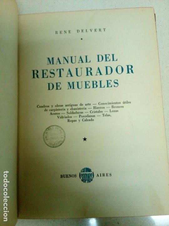 Libros de segunda mano: Manual del restaurador de muebles - Foto 11 - 200077538