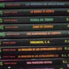 Libros de segunda mano: COLECCIÓN DE 8 LIBROS DE PESADILLAS SERIE 2000 DE R.L. STINE. Lote 200085618