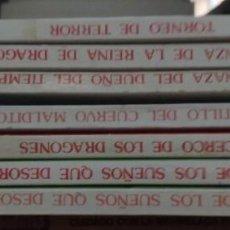 Libros de segunda mano: COLECCIÓN DE 7 LIBROS DE MAGOS Y GUERREROS DE SUSAETA LIBROJUEGO. Lote 200085795