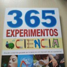 Libros de segunda mano: 365 EXPERIMENTOS DE CIENCIA. SUSAETA. Lote 200089398