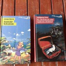 Libros de segunda mano: DOS NOVELAS, LA MANO NEGRA, AÑO 90,LAS DE LA FOTO. Lote 200137162
