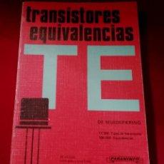 Libros de segunda mano: TRANSISTORES EQUIVALENCIAS . Lote 200183296