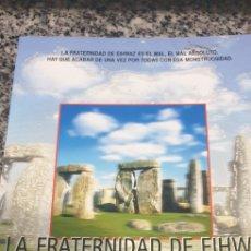 Libros de segunda mano: LA FRATERNIDAD DE EIHWAZ . CESAR MALLORQUI. Lote 200188927