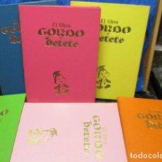 Libros de segunda mano: EL LIBRO GORDO DE PETETE ( COLECCIÓN COMPLETA 6 TOMOS ) EXCELENTE ESTADO. Lote 213831168