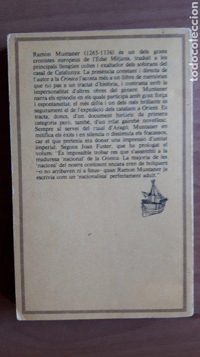 Libros de segunda mano: CRÒNICA DE RAMON MUNTANER. VOLUMS I i II - Foto 4 - 182082977