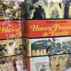 Libros de segunda mano: HISTORIA PINTORESCA DE ESPAÑA, ROBERT COURAU, LUIS DE CARALT, 2 VOLÚMENES, 1973. Lote 200289218