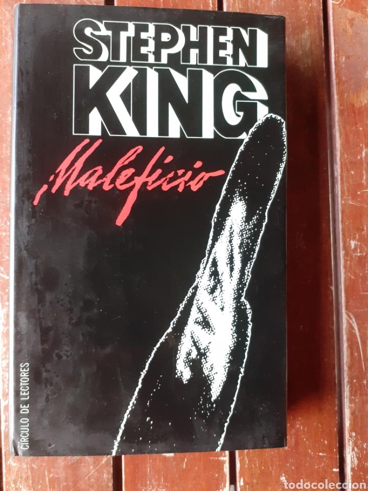 LIBRO, MALEFICIO, STEPHEN KING ,AÑO 98 (Libros de Segunda Mano (posteriores a 1936) - Literatura - Otros)
