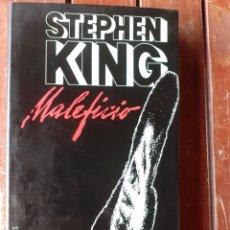 Libros de segunda mano: LIBRO, MALEFICIO, STEPHEN KING ,AÑO 98. Lote 200293411