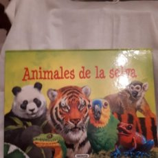 Libros de segunda mano: ANIMALES DE LA SELVA LIBRO POP-UP. Lote 200317260