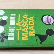 Libri di seconda mano: LA MASCARADA - ALBERTO MORAVIA - ROTATIVAQ203. Lote 200354957