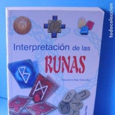 Libros de segunda mano: INTERPRETACIÓN DE LAS RUNAS.- MACARENA ROJO GONZÁLEZ. Lote 210568342