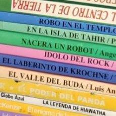 Libros de segunda mano: COLECCIÓN DE 6 LIBROS JUEGOS S.O.S. TU LIBRO DE AVENTURAS SE TU EL PROTAGONISTA LIBRO JUEGO JUCAR. Lote 200393598