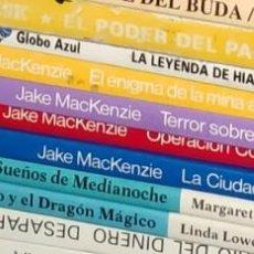 Libros de segunda mano: COLECCIÓN COMPLETA DE 4 LIBROS JUEGOS LOS ARCHIVOS SECRETOS DE DAKOTA LIBRO JUEGO TIMUN MAS. Lote 200394455