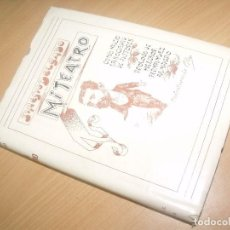 Libros de segunda mano: SINESIO DELGADO MI TEATRO COMO NACIO LA SOCIEDAD DE AUTORES CARICATURAS DE CILLA 1960. Lote 200401145