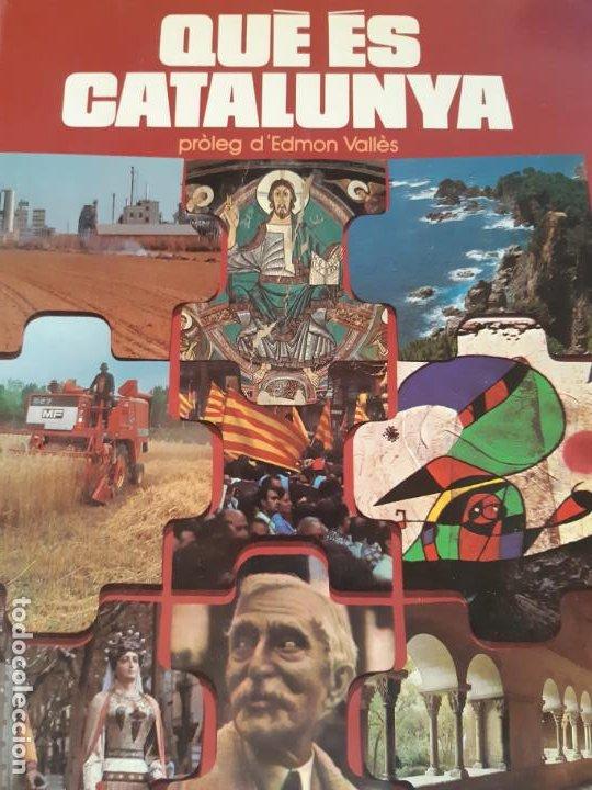 QUE ES CATALUNYA, INFORMACION SOBRE CATALUÑA (Libros de Segunda Mano - Ciencias, Manuales y Oficios - Otros)