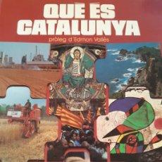 Libros de segunda mano: QUE ES CATALUNYA, INFORMACION SOBRE CATALUÑA. Lote 200550082