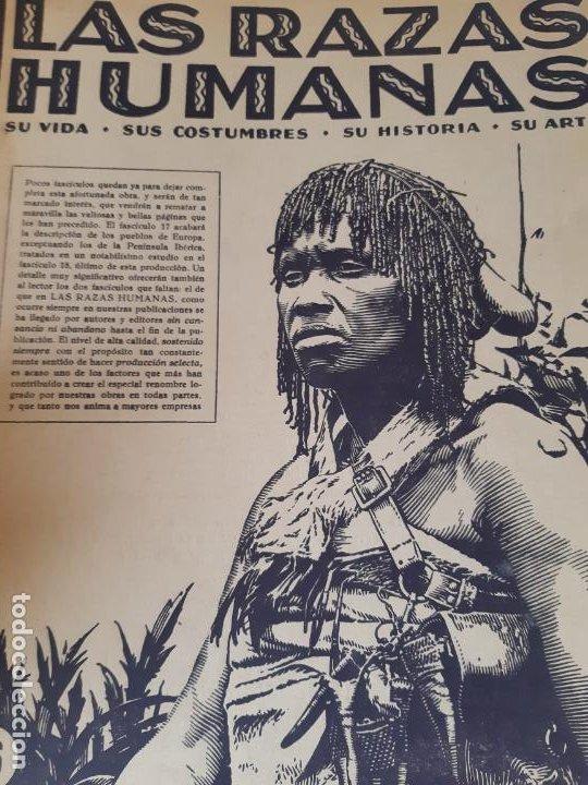 LAS RAZA HUMANAS REVISTA NUMERO 16, INTITUTO GALLARCH (Libros de Segunda Mano - Ciencias, Manuales y Oficios - Otros)