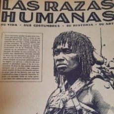 Libros de segunda mano: LAS RAZA HUMANAS REVISTA NUMERO 16, INTITUTO GALLARCH. Lote 200550415