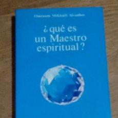 Libros de segunda mano: OMRAAM MIKHAEL AIVANHOV QUE ES UN MAESTRO ESPIRITUAL 1988. Lote 200552510