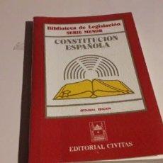 Libros de segunda mano: CONSTITUCIÓN ESPAÑOLA. Lote 200619595