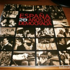 Libros de segunda mano: ESPAÑA 20 AÑOS DE DEMOCRACIA - AGENCIA EF - LUNWERG EDITORES S.A.,MADRID, 1977.. Lote 200780745