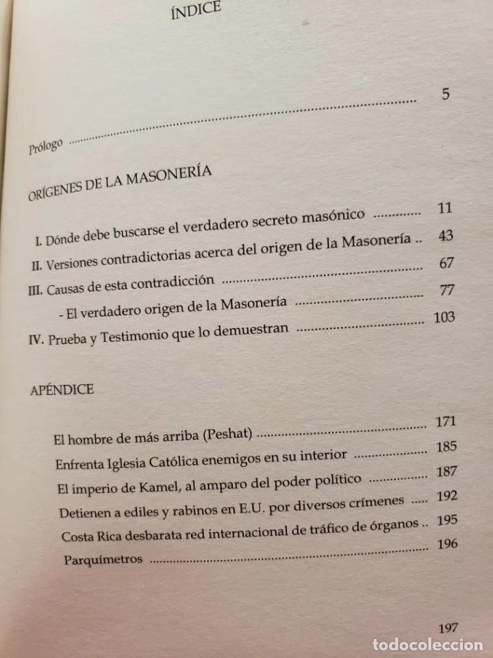 Libros de segunda mano: LA MASONERIA EN SU HISTORIA Y SUS GRADOS - MARIANO TIRADO Y ROJAS - Foto 2 - 200873135