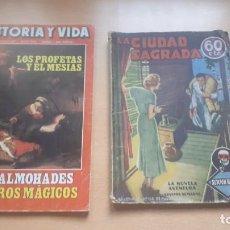 Libros de segunda mano: 2 LIBROS AÑOS 1968-1935. Lote 201102557