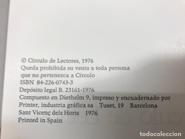 Libros de segunda mano: COLECCION 12 LIBROS EL CIRCULO LECTORES 1976 - Foto 2 - 201116673