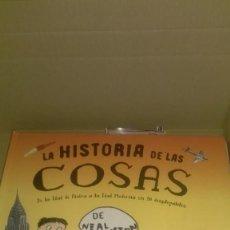 Livros em segunda mão: LA HISTORIA DE LAS COSAS. Lote 201151848