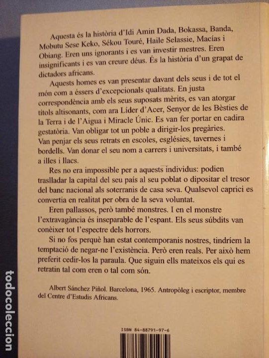 Libros de segunda mano: ALBERT SANCHEZ PIÑOL PALLASSOS I MONSTRES - Foto 2 - 201215963