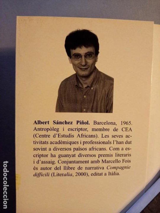 Libros de segunda mano: ALBERT SANCHEZ PIÑOL PALLASSOS I MONSTRES - Foto 3 - 201215963