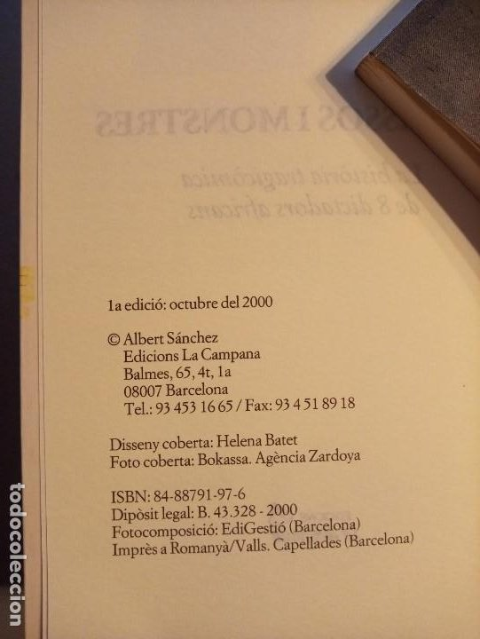 Libros de segunda mano: ALBERT SANCHEZ PIÑOL PALLASSOS I MONSTRES - Foto 4 - 201215963