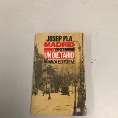 Libros de segunda mano: JOSEP PLA MADRID. Lote 201276732