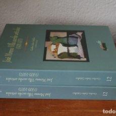 Libros de segunda mano: JOSE MORENO VILLA ESCRIBE ARTICULOS DIPUTACION MALAGA CENTRO CULTURAL GENERACION 27 VOLUMEN I Y III. Lote 201345295