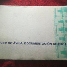 Libros de segunda mano: MUSEO DE ÁVILA DOCUMENTACIÓN GRÁFICA 1989 JUNTA DE CASTILLA Y LEÓN. Lote 201490948