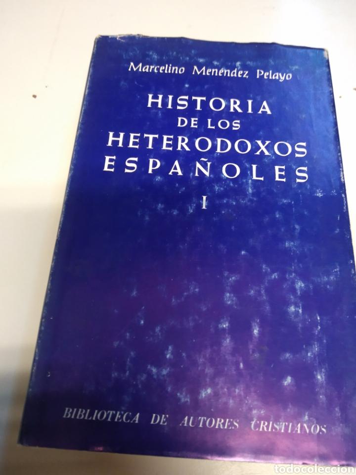 historia de los heterodoxos españoles menendez pelayo pdf