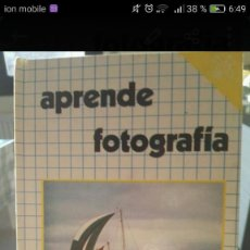 Libros de segunda mano: LIBRO APRENDE FOTOGRAFIA. Lote 201814678