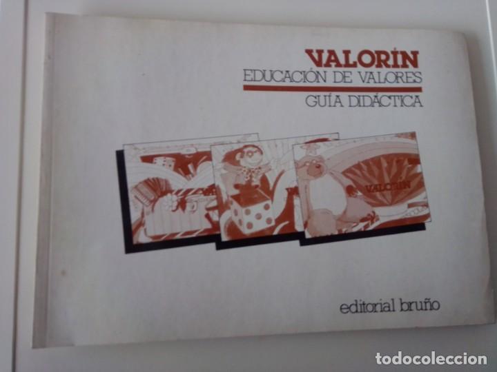 VALORIN EDUCACIÓN DE VALORES (Libros de Segunda Mano - Literatura Infantil y Juvenil - Otros)