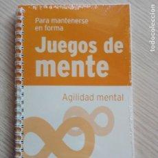 Libros de segunda mano: JUEGOS DE MENTE 3 AGILIDAD MENTAL PARA MANTENERSE EN FORMA. Lote 201999577