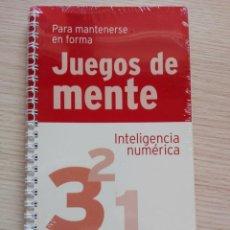 Libros de segunda mano: JUEGOS DE MENTE 3 INTELIGENCIA NUMÉRICA PARA MANTENERSE EN FORMA. Lote 202000170