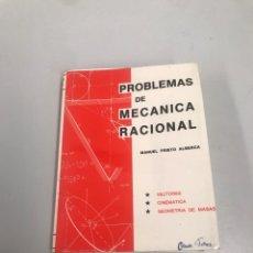 Livros em segunda mão: PROBLEMAS DE MECÁNICA RACIONAL. Lote 202018177