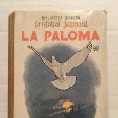 Libros de segunda mano: BIBLIOTECA SELECTA - LA PALOMA - EDIT. SOPENA AÑO 1942. Lote 202481562