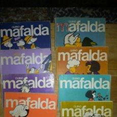 Libros de segunda mano: 12 LIBRITOS DE MAFALDA.. Lote 202617831