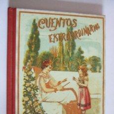 Libros de segunda mano: CUENTOS EXTRAORDINARIOS - S. CALLEJA - EDAF - FACSIMIL 2004 - 123 PAGINAS. Lote 202622270