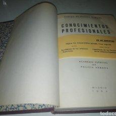 Libri di seconda mano: CONOCIMIENTOS PROFESIONALES CUERPO DE POLICÍA ARMADA. 1964.. Lote 202715480