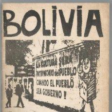 Libros de segunda mano: BOLIVIA DIARIO DE GUERRILLA DE FRANCISCO NESTOR PAZ CIDOB 1971. Lote 202806866