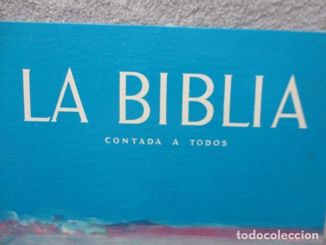 Libros de segunda mano: La Biblia contada a todos por Michel Riquet de Ed. Timun Mas - Foto 3 - 263107010