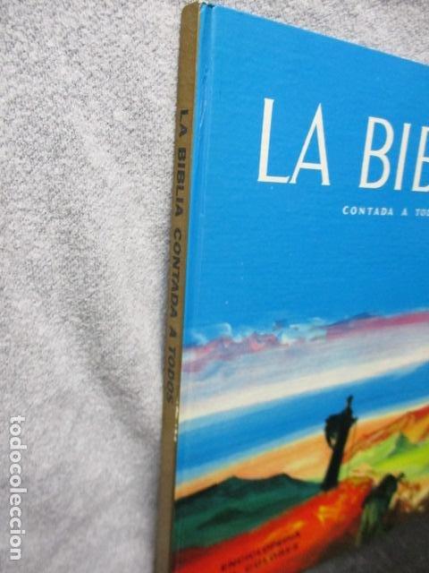Libros de segunda mano: La Biblia contada a todos por Michel Riquet de Ed. Timun Mas - Foto 5 - 263107010